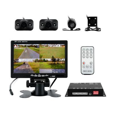 Vehicle 360 Degree Panoramic View System with Monitor
